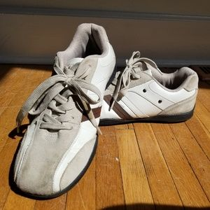 Perry Ellis Leather and Suede Sneakers